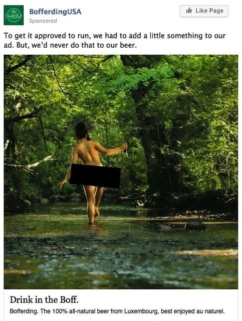 Facebook Says No to Nudity in Beer Advertising featured image