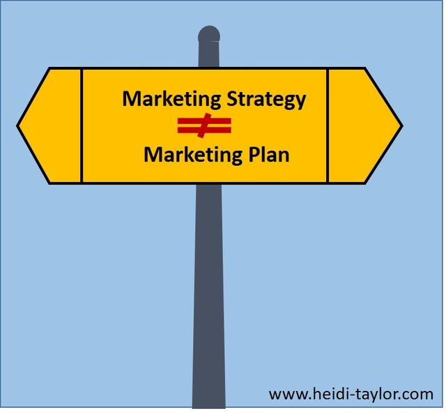 A marketing plan is not a marketing strategy featured image