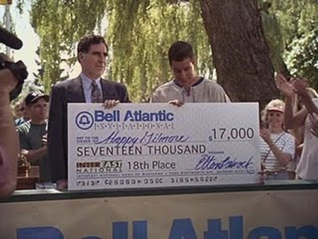 Who doesn't love a big cheque? featured image