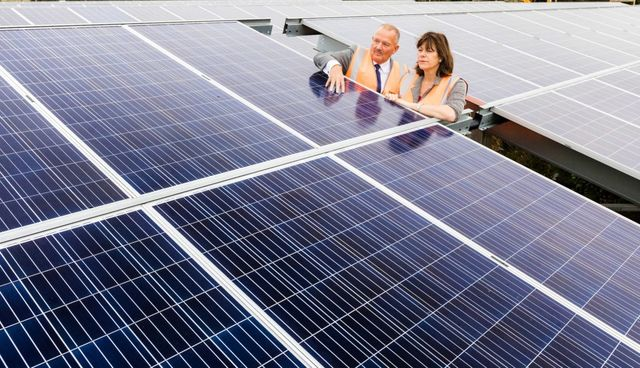 PPA-backed solar roll-out sees £20 million pledge in the UK featured image