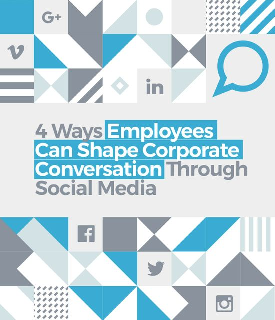 4 Ways Employees Shape Corporate Conversation Through Social Media Marketing featured image