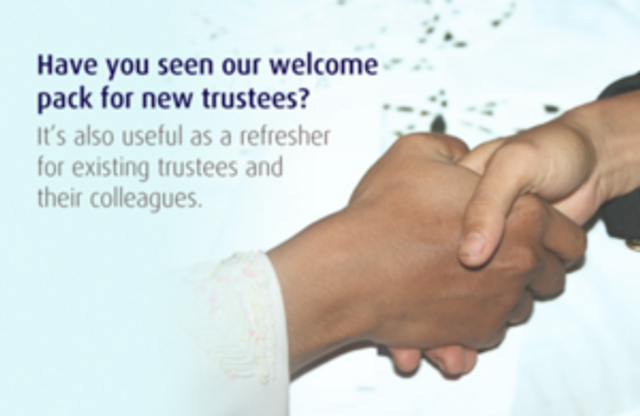 New welcome pack for charity trustees featured image
