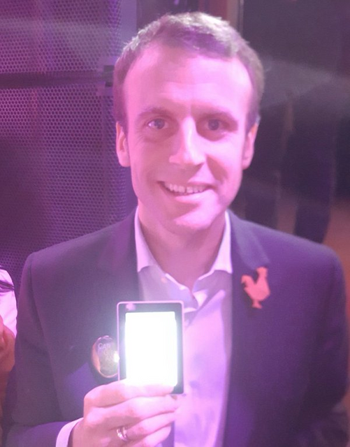 "Bitcoin rallies to new high after ""pro-blockchain"" Macron wins French Election featured image"
