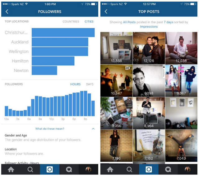 A sneak peak at the new Instagram Business Profiles featured image