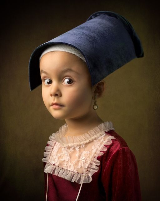 Old Masters inspired portraits of little Athena featured image