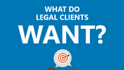 What do legal clients want from their lawyers?
