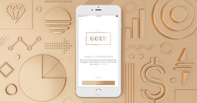 Robinhood announces Robinhood Gold premium service featured image