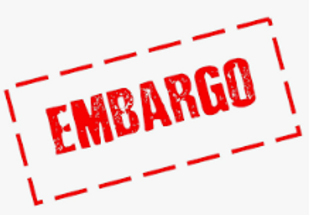 Embargoed until 00.01 featured image