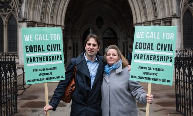 Heterosexual Civil Partnerships to be appealed to Supreme Court featured image