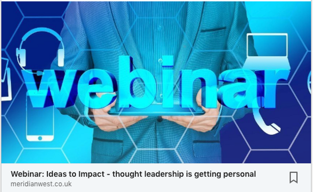Ideas to Impact – thought leadership is getting personal featured image