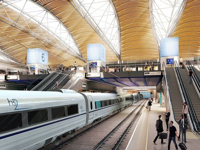 Government backs parliamentary bill to take HS2 past Birmingham featured image