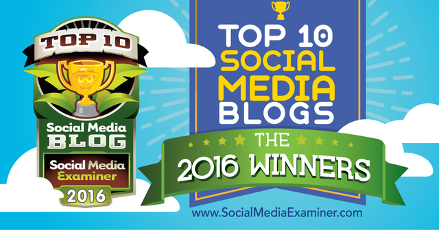 Top Social Media Blogs of 2016 So Far...... featured image