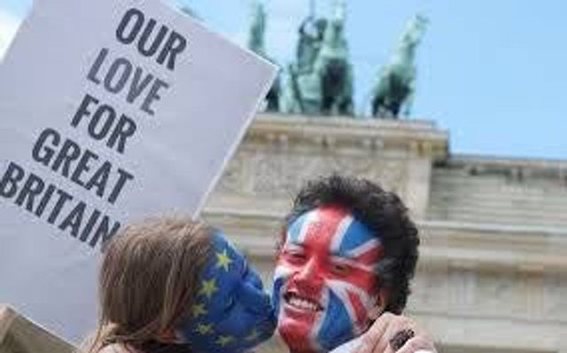 The key to a happy marriage - asking if they voted for Brexit... on the first date? featured image