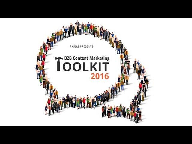 The B2B Content Marketing Toolkit 2016 featured image