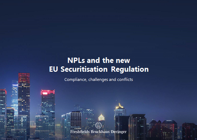 NPLs and the new EU Securitisation Regulation: compliance, challenges and conflicts featured image