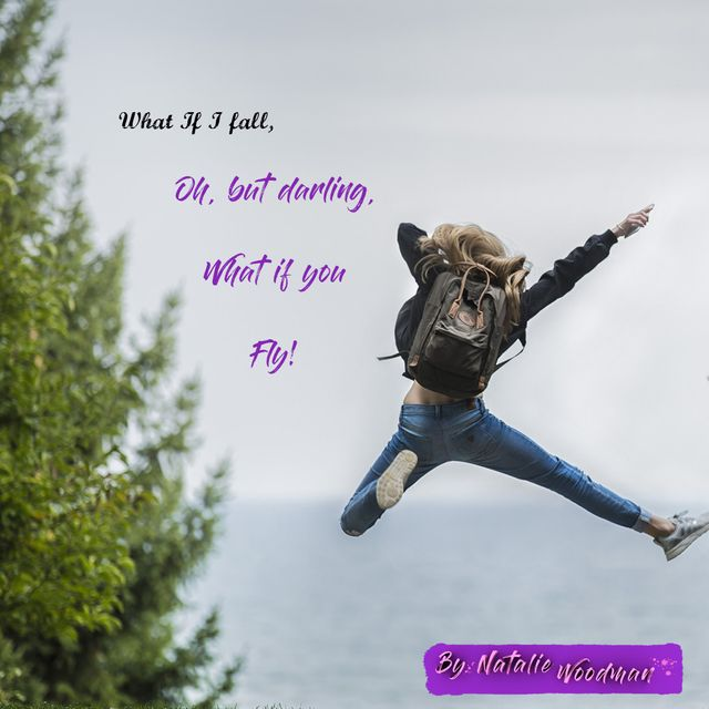 What if I fall, Oh, But Darling, What if you fly? featured image