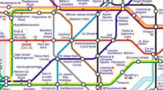 The London Underground Rent Map featured image