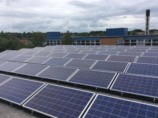 Edinburgh: Largest community rooftop solar framework completed featured image