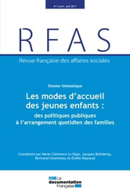 Les modes d'accueil des jeunes enfants : des politiques publiques à l'arrangement quotidien des familles featured image