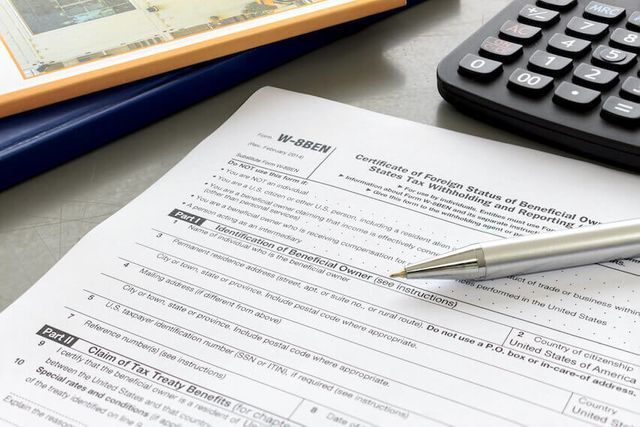IRS issues updated W-8BEN-E form featured image