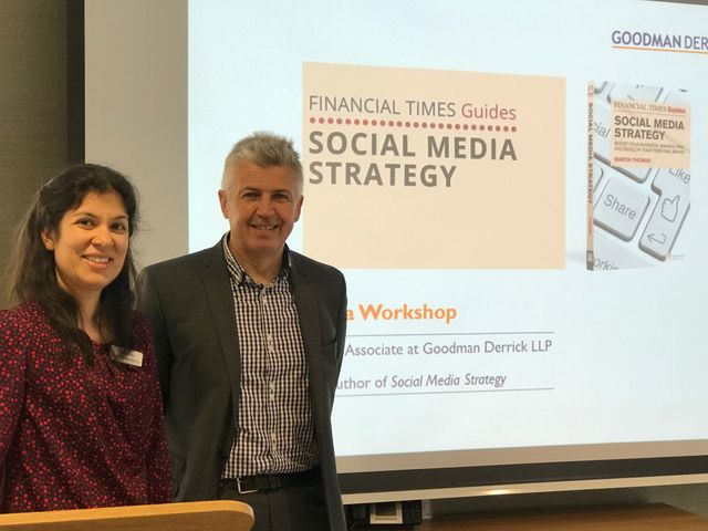 Goodman Derrick host social media strategy seminar featured image