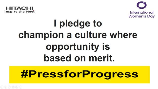 Celebrate Women. Celebrate Merit. Celebrate Inclusion. #PressforProgress featured image
