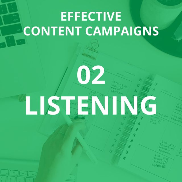 How to conduct a best practice content campaign from start to finish (part 2 - listening) featured image