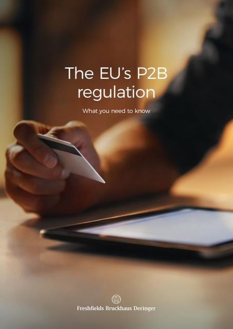 The EU's P2B regulation: What you need to know featured image