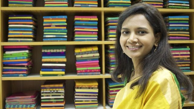 The Indian Woman Transforming The Family's Sari Firm featured image