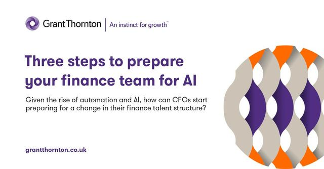 Three steps to prepare your finance team for AI featured image