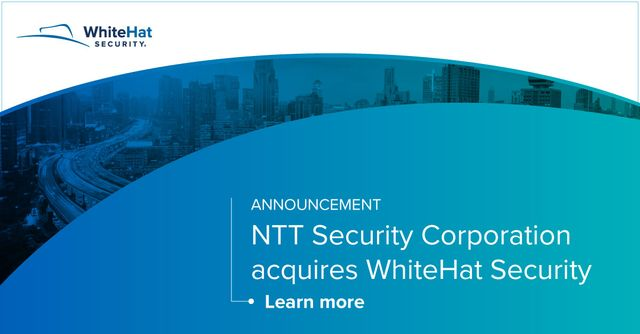 WhiteHat joins forces with NTT Security featured image