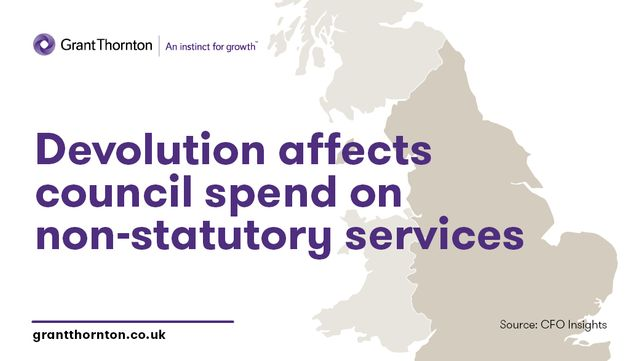 Devolution affects spend on non-statutory services featured image