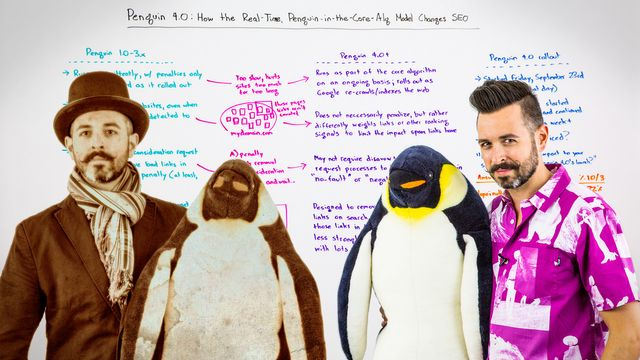 Penguin 4.0: How the Real-Time Penguin-in-the-Core-Alg Model Changes SEO featured image