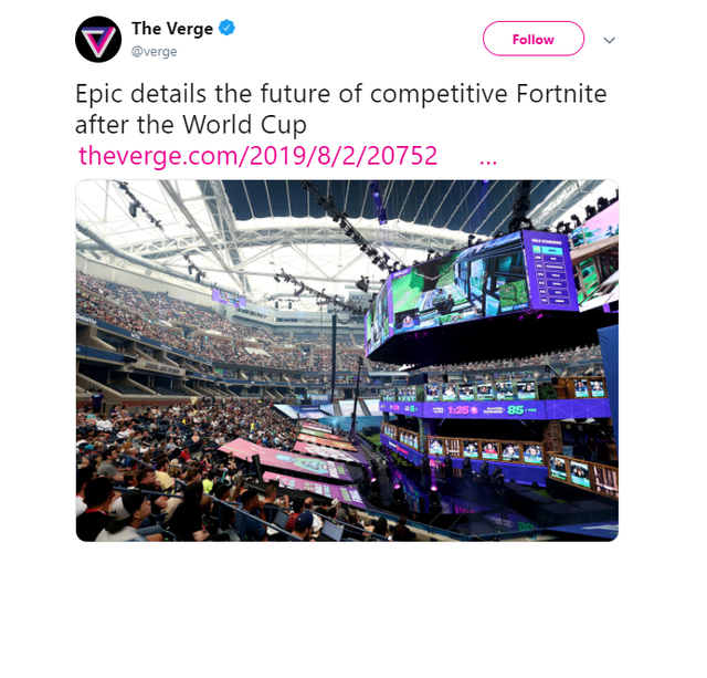 E-SPORTS MARKET GROWTH CONTINUES APACE WITH SUCCESS OF FIRST FORTNITE WORLD CUP featured image