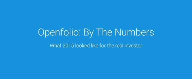 Openfolio: by the numbers featured image