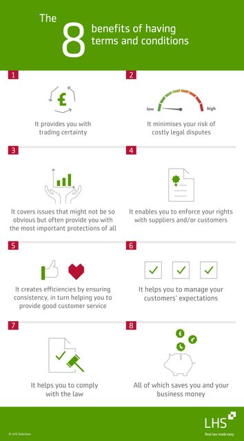 The 8 benefits of having terms and conditions (with free checklist) featured image