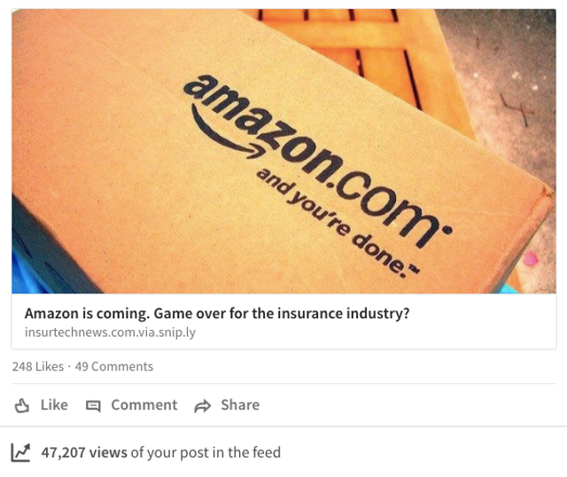 Amazon moving into Insurance or Banking? featured image
