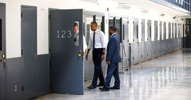 POTUS in Prison! Obama Takes Reform Message to the Prison Cell Block - APDS to benefit? featured image