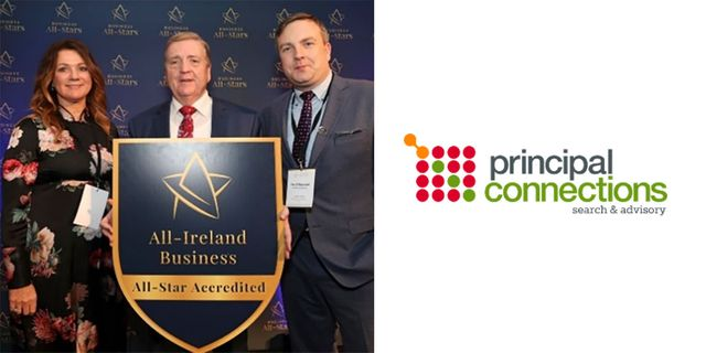 Principal Connections Awarded With All-Ireland Business All-Star Accreditation featured image
