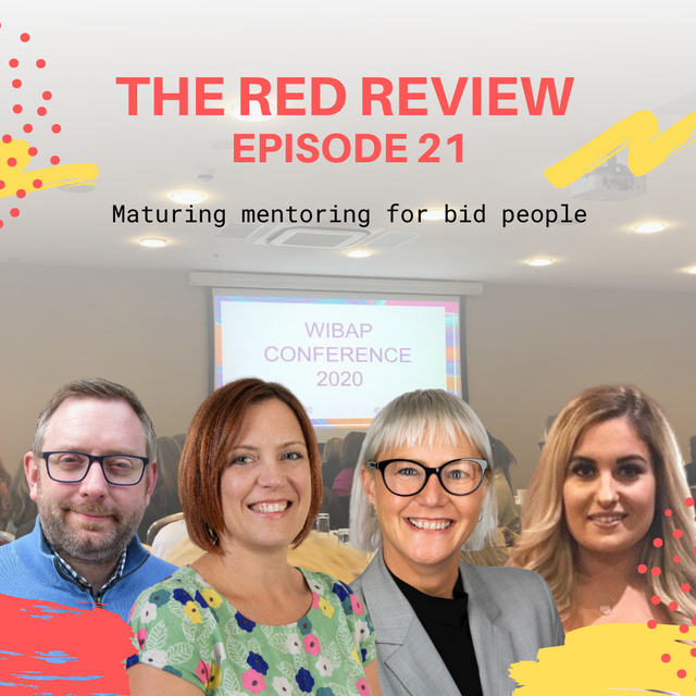 Show notes - Red Review Podcast S01E21 - Maturing mentoring for bid people featured image
