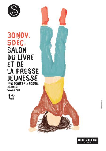 """Le salon de Montreuil met la littérature jeunesse """"sens dessus dessous"""" featured image"""