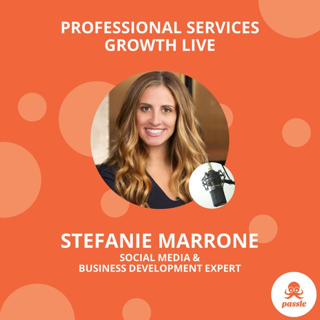 Professional Services Growth Live Webinar - Social Strategy with Stefanie Marrone featured image