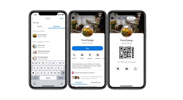 Venmo begins piloting 'business profiles' for small sellers featured image