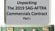 The 2019 SAG-AFTRA Commercials Contract (Part 1):  The Alternate Compensation Structure