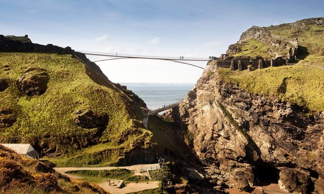 Bridge with gap wins Tintagel Castle design contest featured image