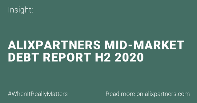 AlixPartners Mid-Market Debt Report H2 2020 | AlixPartners featured image